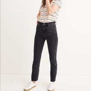 Madewell Perfect Summer Jeans Crawley Black Wash